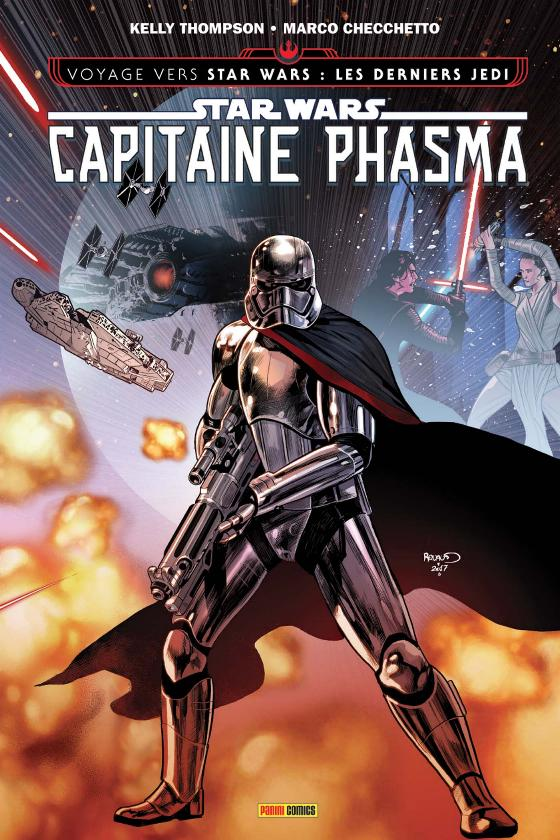 STAR WARS - CAPITAINE PHASMA (Thompson, Checchetto) PANINI Phasma18