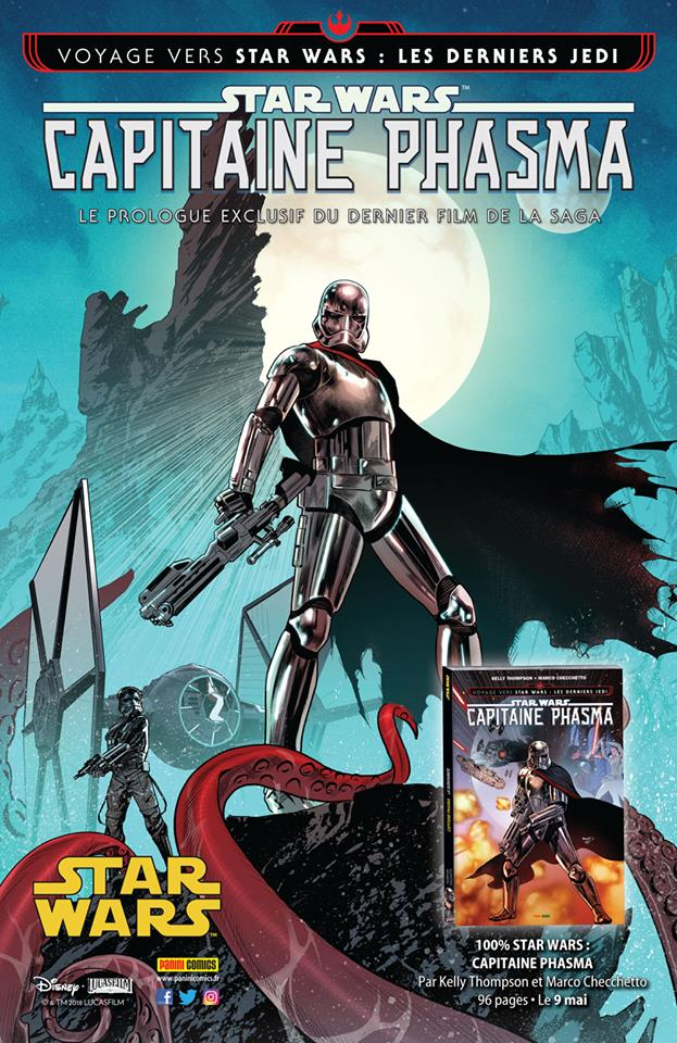 STAR WARS - CAPITAINE PHASMA (Thompson, Checchetto) PANINI Phasma19