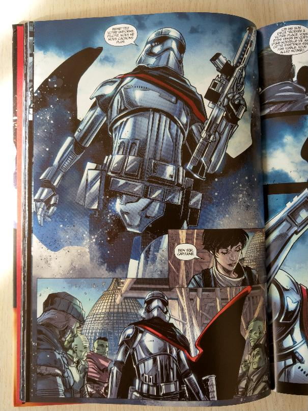 STAR WARS - CAPITAINE PHASMA (Thompson, Checchetto) PANINI Phasma21