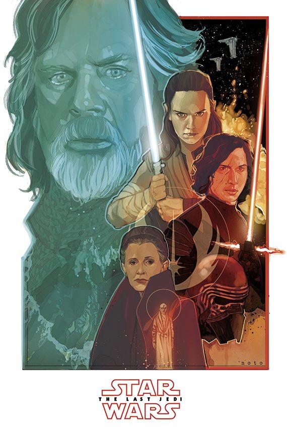 8 - Les posters de Star Wars VIII - The Last Jedi - Page 2 Philno10