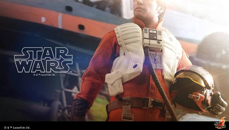 Hot Toys Star Wars - Poe Dameron Sixth Scale Figure Poe_0010
