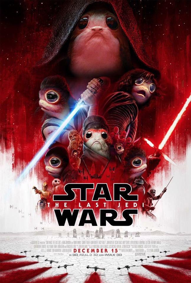 8 - Les posters de Star Wars VIII - The Last Jedi - Page 2 Porg0210