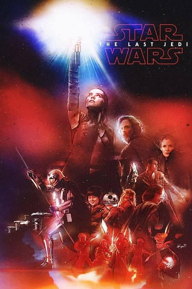 8 - Les posters de Star Wars VIII - The Last Jedi - Page 3 Poster11