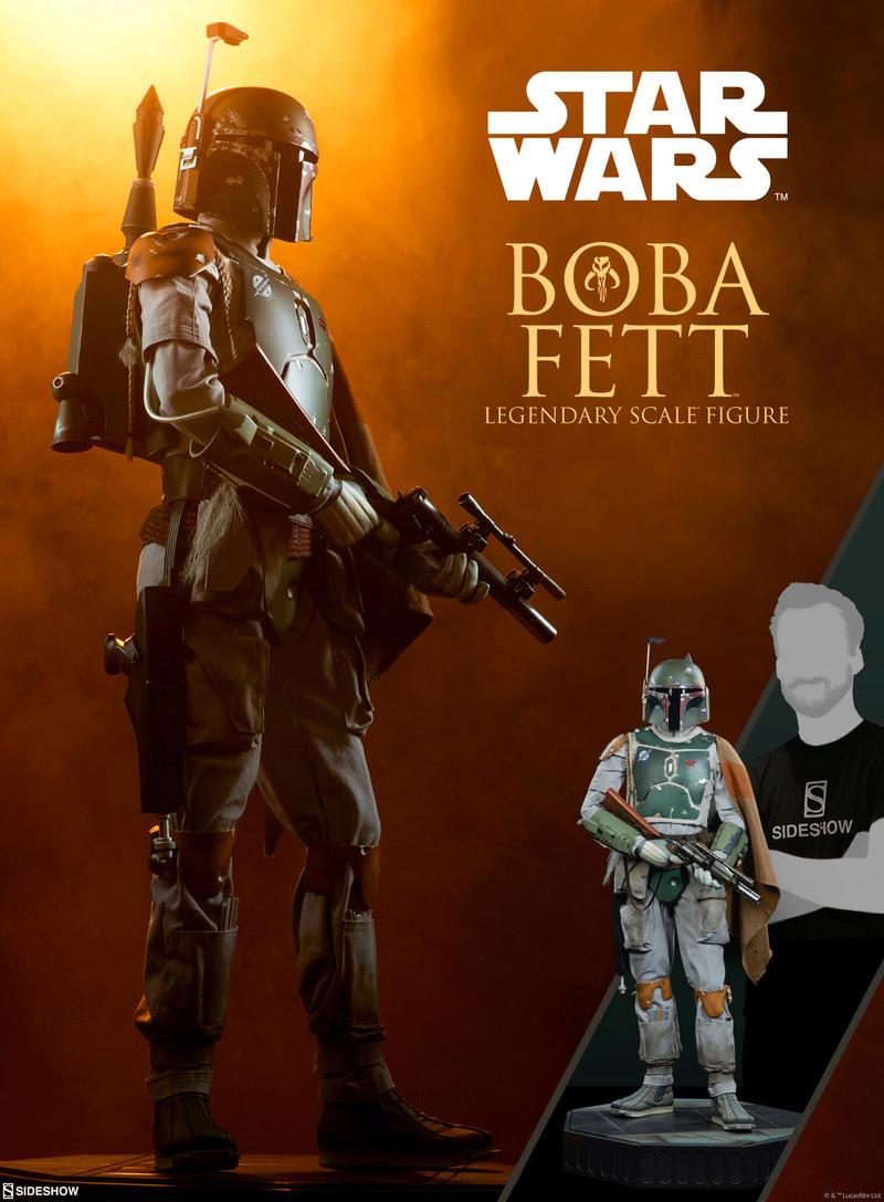 Sideshow Collectible - Boba Fett Legendary Scale Figure  Previe13