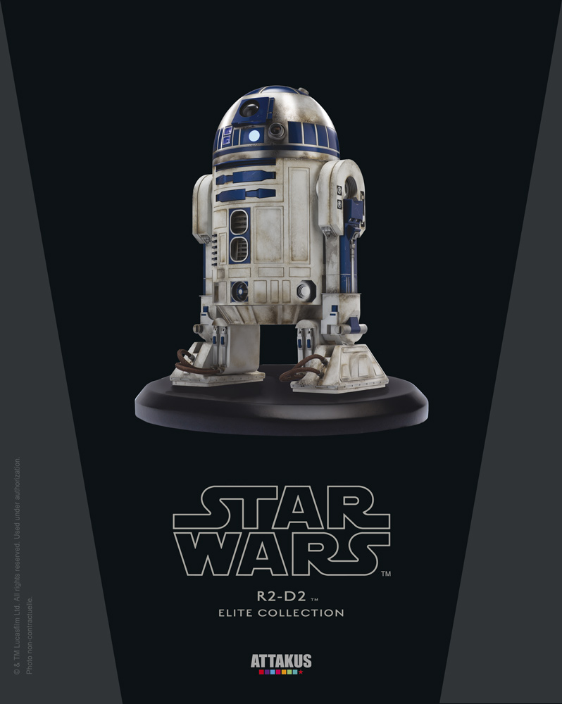 ATTAKUS - Star Wars Elite Collection 1/10 R2-D2 Startue - V3 R2-d2_10
