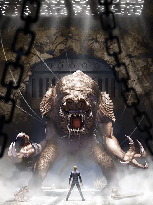 Artwork Star Wars - ACME - Rancors Wrath Rancor10