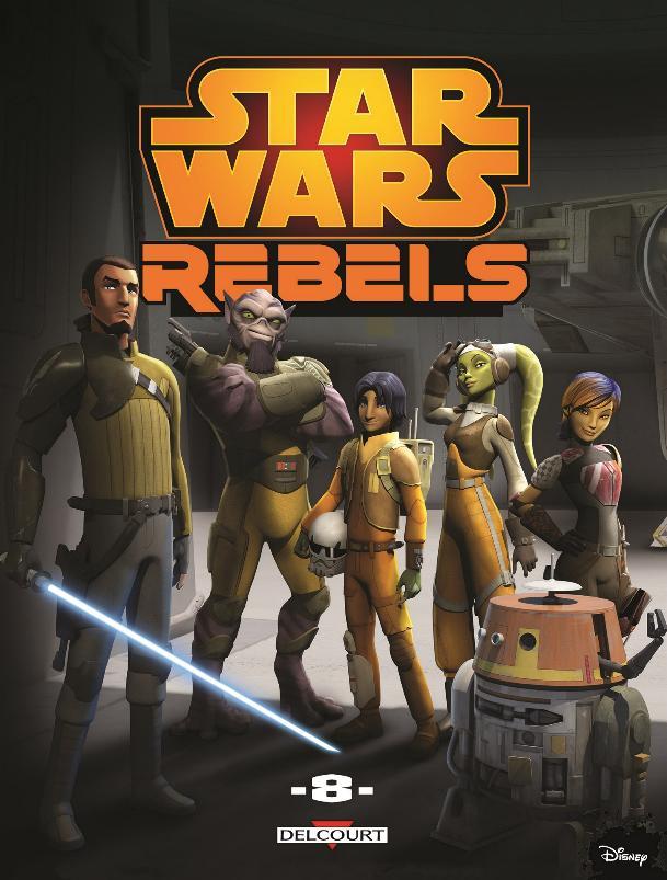 DELCOURT - Star Wars Rebels Tome 8 Rebels10