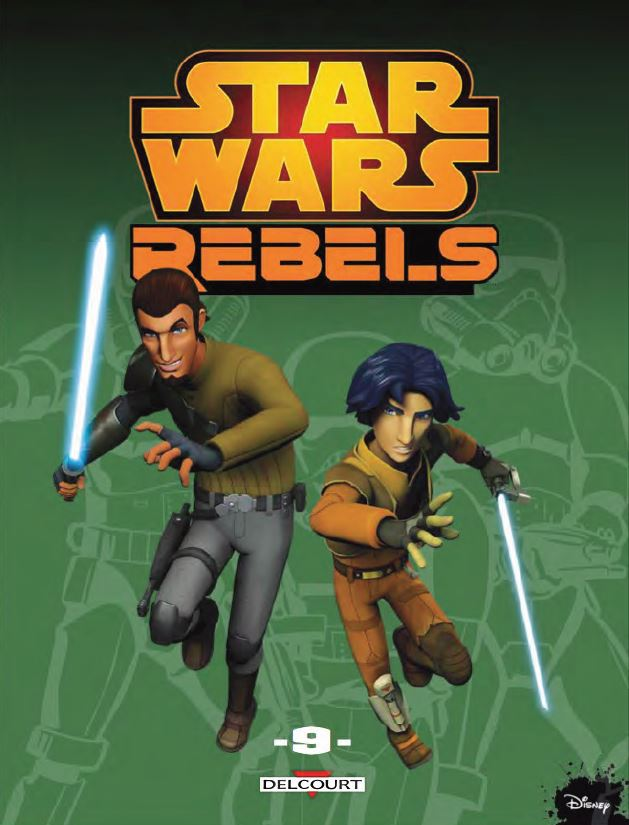 DELCOURT - Star Wars Rebels Tome 9 Rebels11