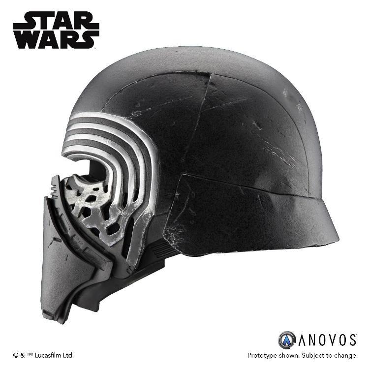 ANOVOS STAR WARS TFA : Kylo Ren Helmet Premier Line Ren_he10