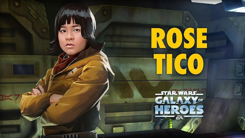 Star Wars: Galaxy Of Heroes  Rose10