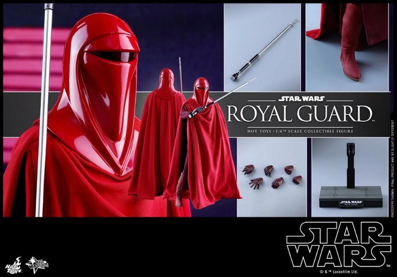 Hot Toys Star Wars - Royal Guard Sixth Scale Figure Royalg29
