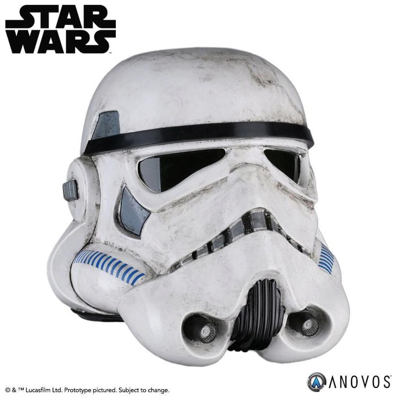 ANOVOS - STAR WARS Sandtrooper Helmet Accessory Sandhe11