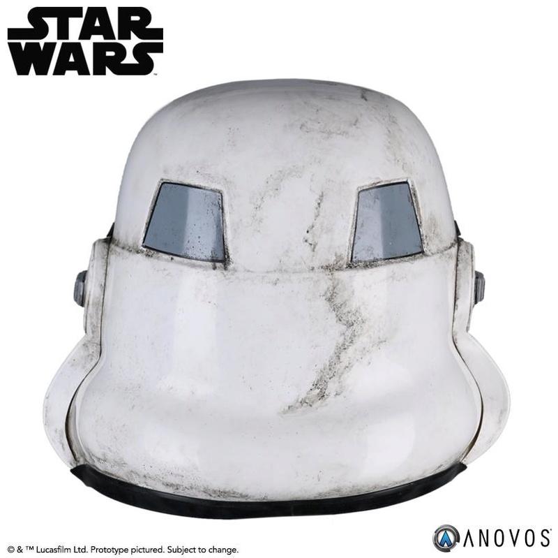ANOVOS - STAR WARS Sandtrooper Helmet Accessory Sandhe13