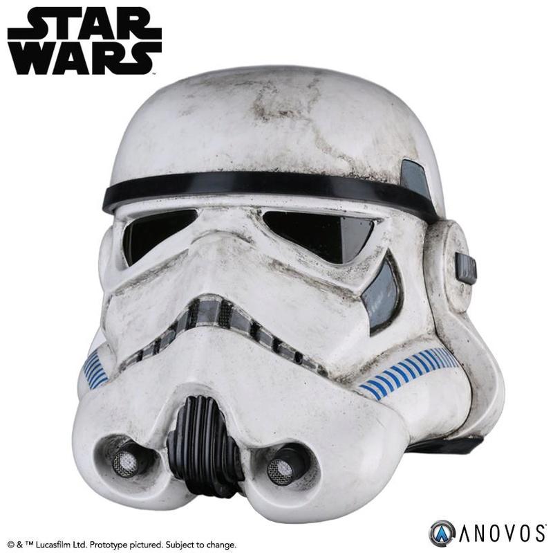 ANOVOS - STAR WARS Sandtrooper Helmet Accessory Sandhe14