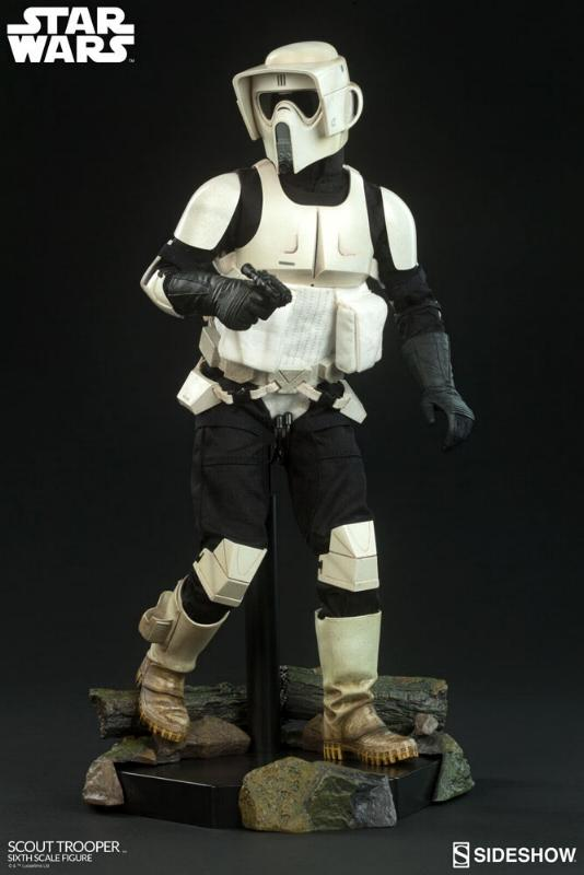 Sideshow - Scout Trooper (V2 - 2018) 6th Scale Figure Scout-10