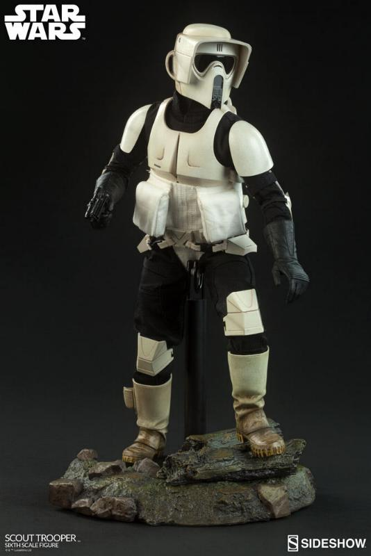 Sideshow - Scout Trooper (V2 - 2018) 6th Scale Figure Scout-11