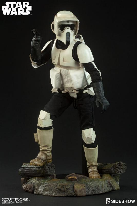Sideshow - Scout Trooper (V2 - 2018) 6th Scale Figure Scout-13