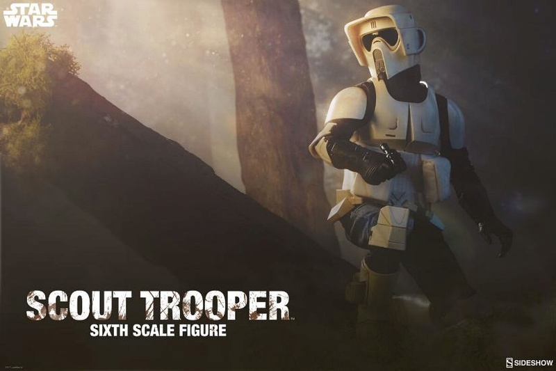 Sideshow - Scout Trooper (V2 - 2018) 6th Scale Figure Scout-15