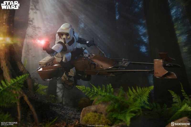 Sideshow - Scout Trooper (V2 - 2018) 6th Scale Figure Scout-17