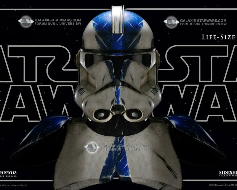 Sideshow - 501 Clone Trooper - Life Size Bust Sidesh11