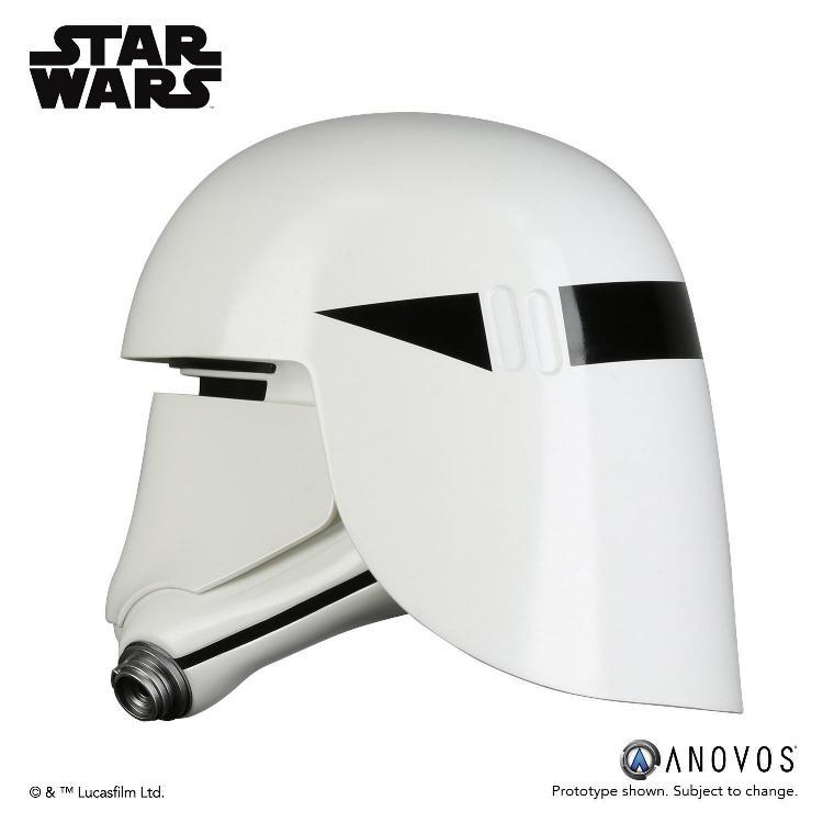 ANOVOS - STAR WARS First Order Snowtrooper Helmet Accessory Snowtr15