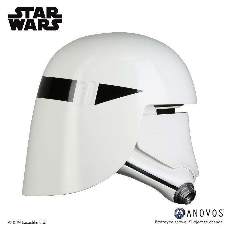 ANOVOS - STAR WARS First Order Snowtrooper Helmet Accessory Snowtr16