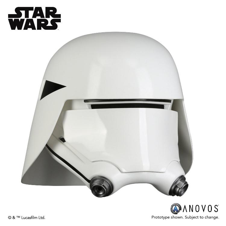 ANOVOS - STAR WARS First Order Snowtrooper Helmet Accessory Snowtr17