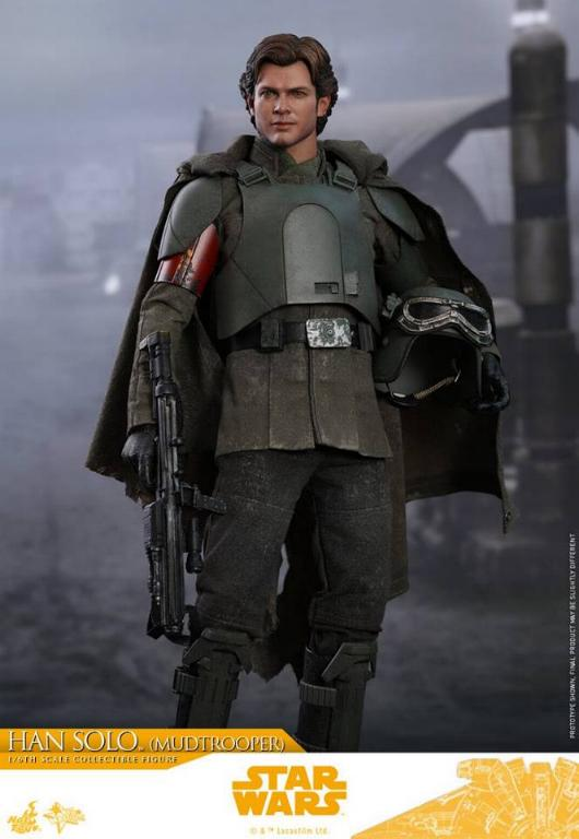 Hot Toys Solo A Star Wars Story - 1/6th Han Solo Mudtrooper Solo_m21