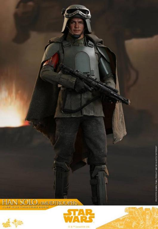 Hot Toys Solo A Star Wars Story - 1/6th Han Solo Mudtrooper Solo_m22
