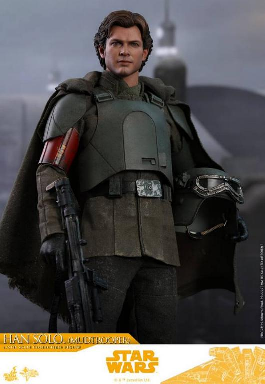 Hot Toys Solo A Star Wars Story - 1/6th Han Solo Mudtrooper Solo_m24