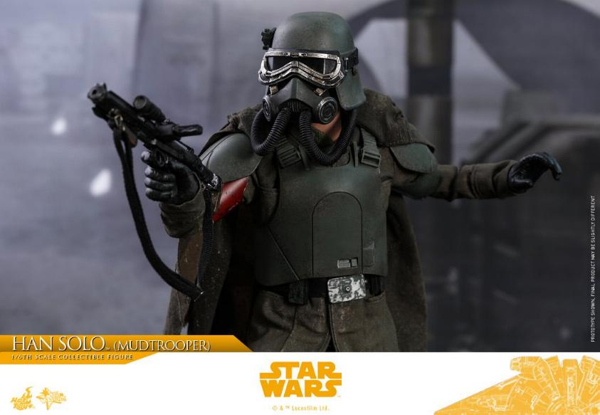 Hot Toys Solo A Star Wars Story - 1/6th Han Solo Mudtrooper Solo_m25