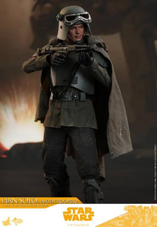 Hot Toys Solo A Star Wars Story - 1/6th Han Solo Mudtrooper Solo_m26