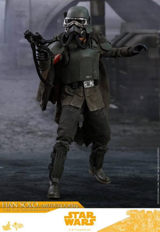 Hot Toys Solo A Star Wars Story - 1/6th Han Solo Mudtrooper Solo_m31