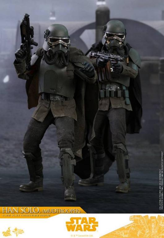 Hot Toys Solo A Star Wars Story - 1/6th Han Solo Mudtrooper Solo_m32