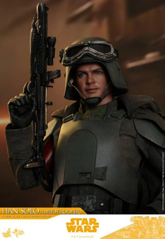 Hot Toys Solo A Star Wars Story - 1/6th Han Solo Mudtrooper Solo_m33
