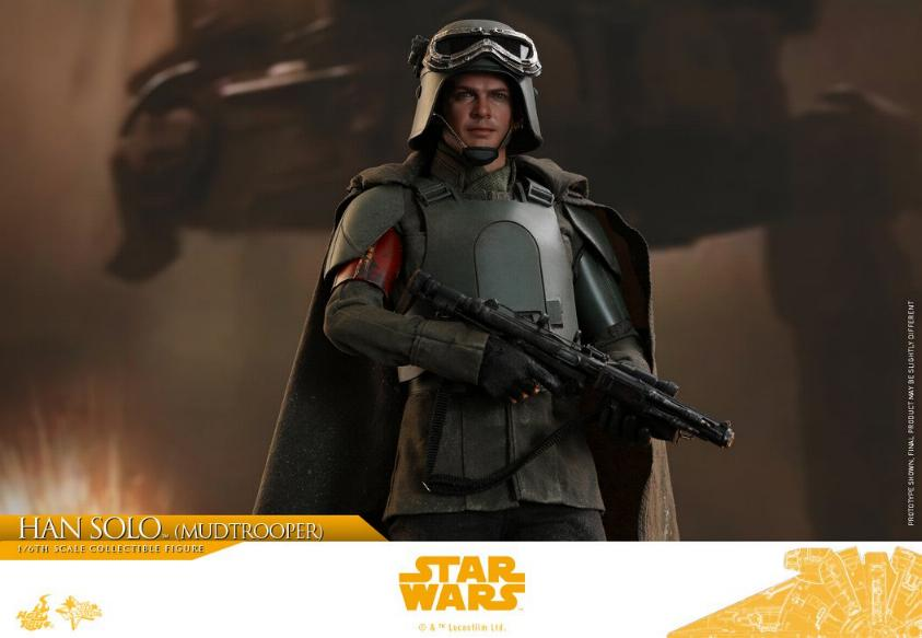 Hot Toys Solo A Star Wars Story - 1/6th Han Solo Mudtrooper Solo_m36