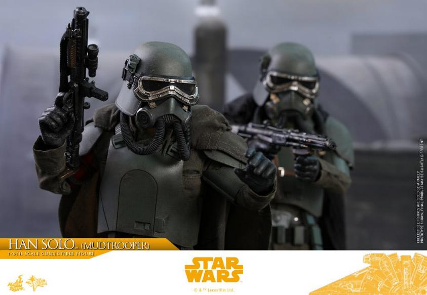 Hot Toys Solo A Star Wars Story - 1/6th Han Solo Mudtrooper Solo_m37