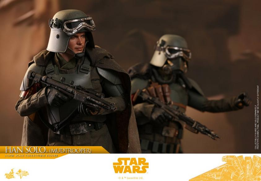 Hot Toys Solo A Star Wars Story - 1/6th Han Solo Mudtrooper Solo_m38