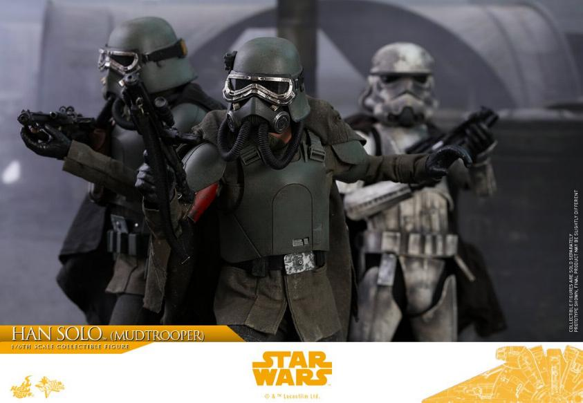 Hot Toys Solo A Star Wars Story - 1/6th Han Solo Mudtrooper Solo_m39