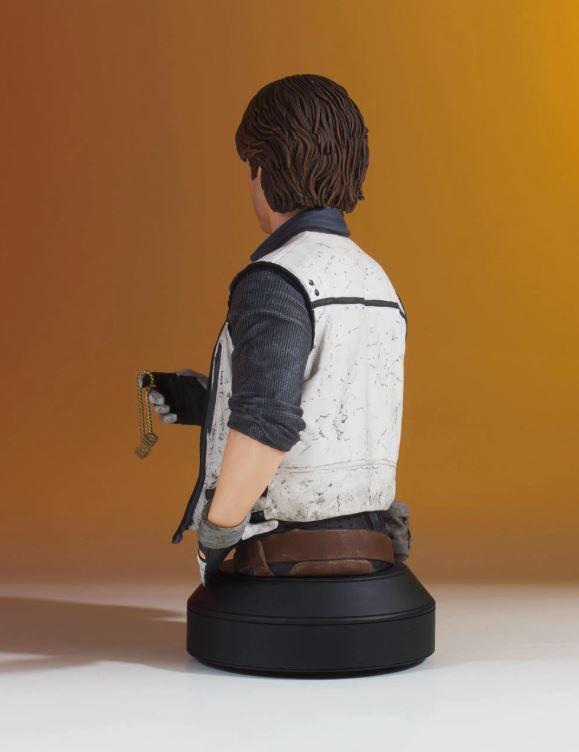 Gentle Giant - Han Solo CORELLIA Mini Bust (Solo ASWS) Soloas10