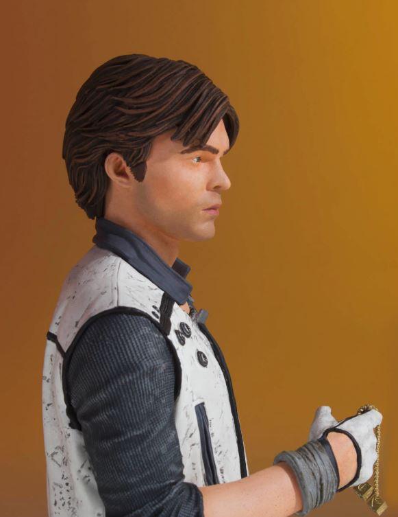 Gentle Giant - Han Solo CORELLIA Mini Bust (Solo ASWS) Soloas13