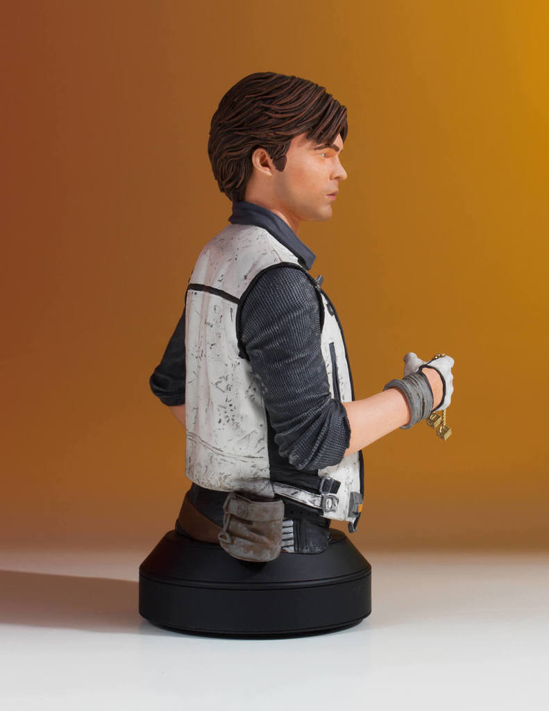 Gentle Giant - Han Solo CORELLIA Mini Bust (Solo ASWS) Soloas14