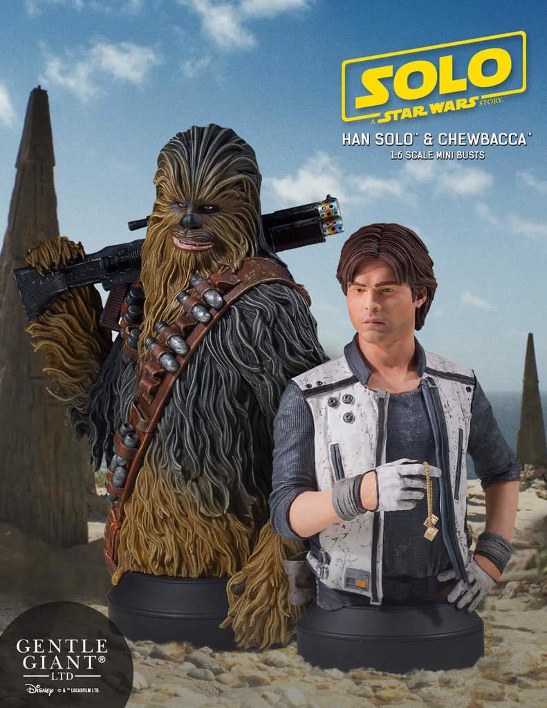 Gentle Giant - Han Solo CORELLIA Mini Bust (Solo ASWS) Soloas20