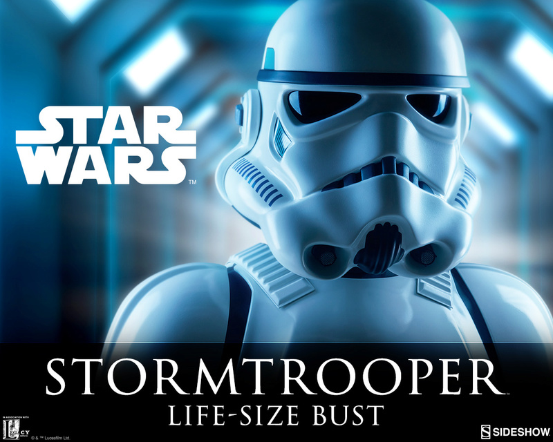 Sideshow Collectibles - Stormtrooper Life-Size Bust Storm_10
