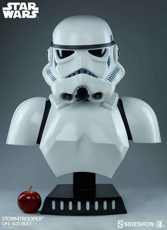 Sideshow Collectibles - Stormtrooper Life-Size Bust Storm_31