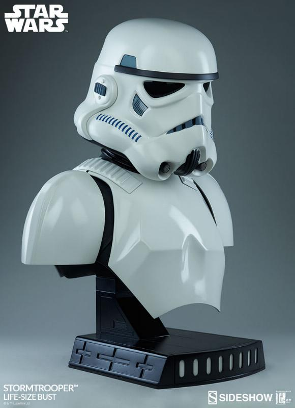 Sideshow Collectibles - Stormtrooper Life-Size Bust Storm_35