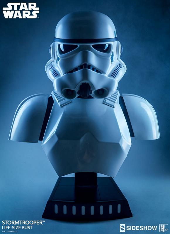 Sideshow Collectibles - Stormtrooper Life-Size Bust Storm_45