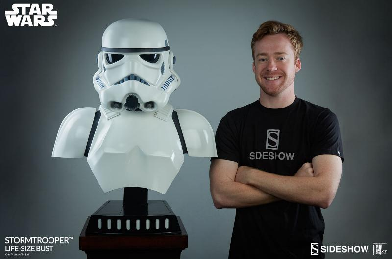 Sideshow Collectibles - Stormtrooper Life-Size Bust Storm_46