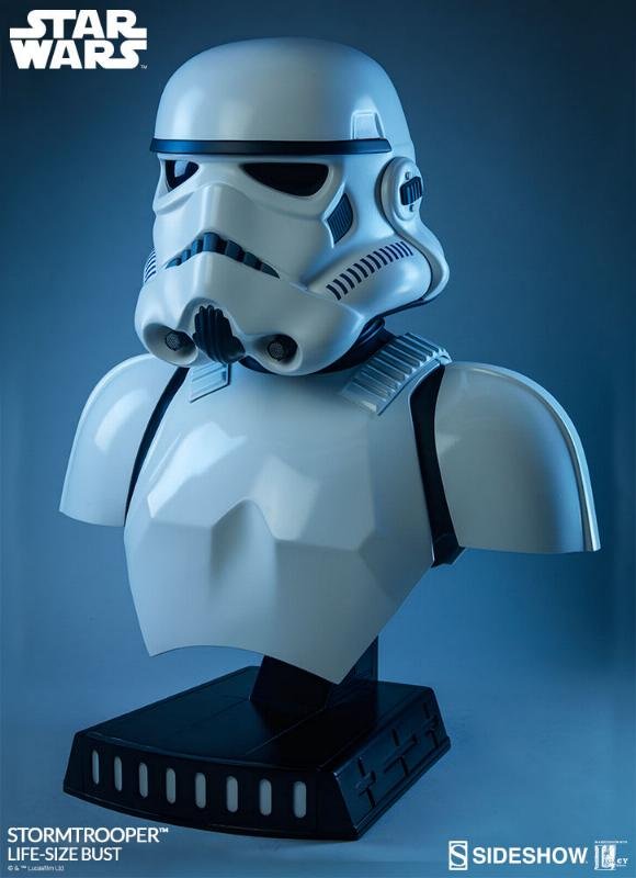 Sideshow Collectibles - Stormtrooper Life-Size Bust Storm_47