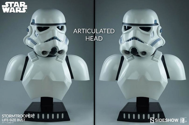 Sideshow Collectibles - Stormtrooper Life-Size Bust Storm_48